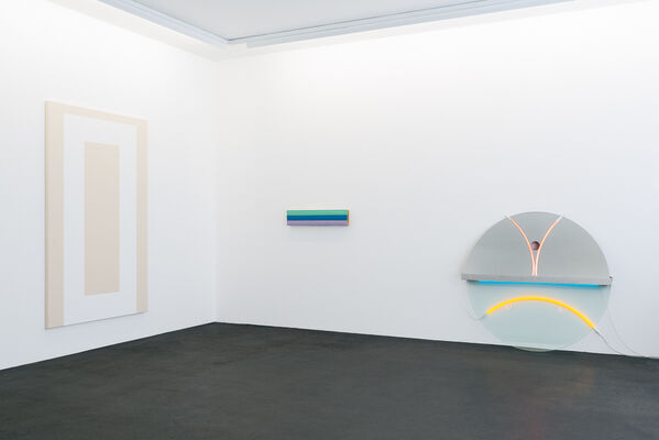 Collector's Choice: »Order and Color   A Dialog with Collection Günter Hackenberg«, installation view