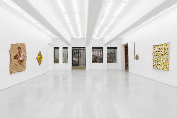 UNRESOLVED CATEGORY, installation view