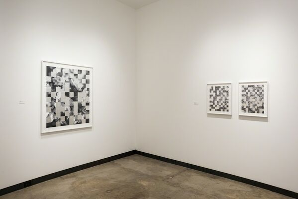 Silver/Surface, installation view