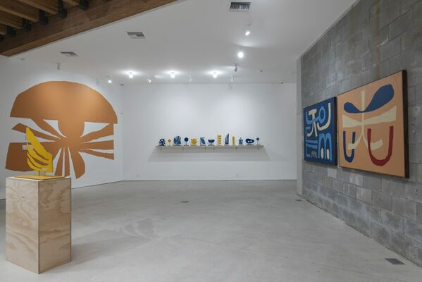 Cody Hudson | Earth Rise Day Dream, installation view
