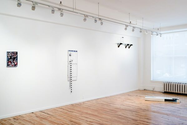 The Digital Cliff, installation view