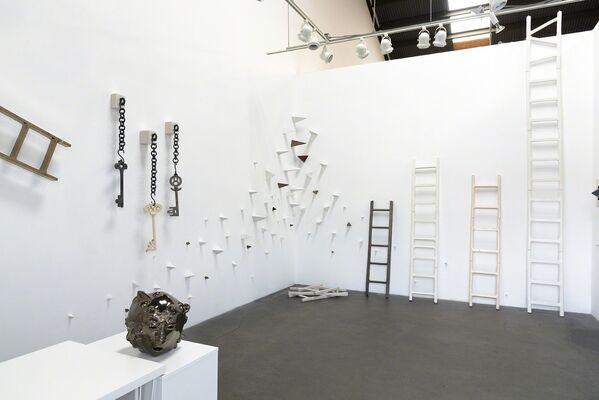 Elizabeth Orleans: Giant Steps, installation view