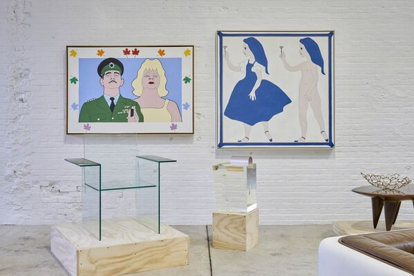 Pop Art: 'A Catalyst for Dreams,' Abstraction and Figuration, installation view
