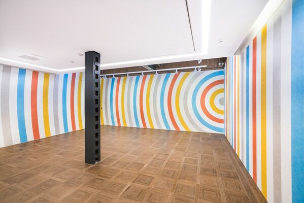 SOL LEWITT, installation view