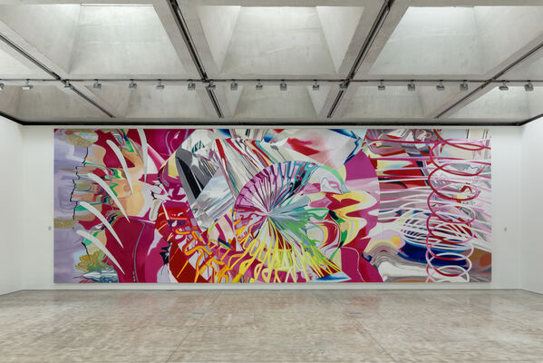 James Rosenquist: Two Paintings, installation view