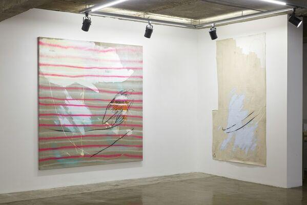 Jenny Brosinski: Catch me if you can, installation view