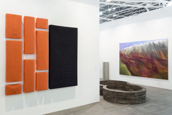 Galerie Jocelyn Wolff at Artissima 2016, installation view