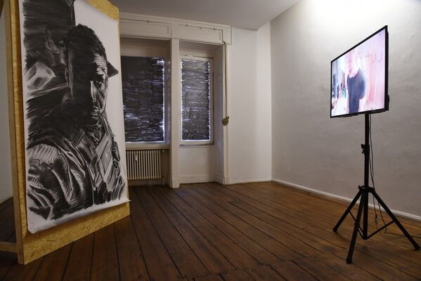 THINK OF ME AS A CAROL by Peter Voss-Knude, installation view