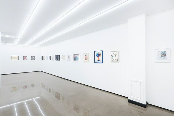 35 Works On Paper, installation view