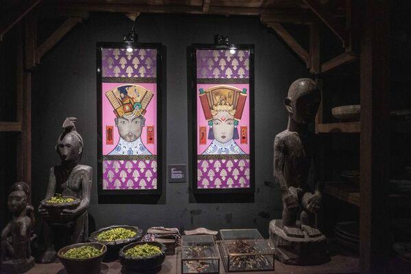 Gold In Our Veins: Mark Lewis Lim Higgins, installation view