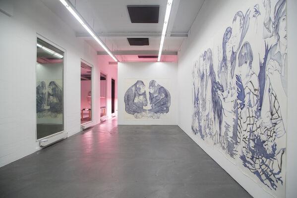 Marlene McCarty, installation view