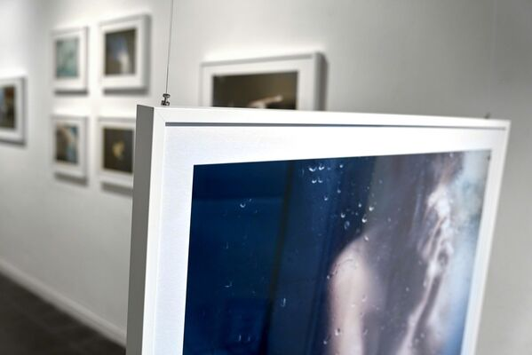 Drowning in Blue, installation view