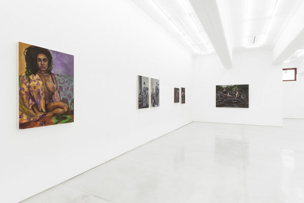 War of the Roses, installation view