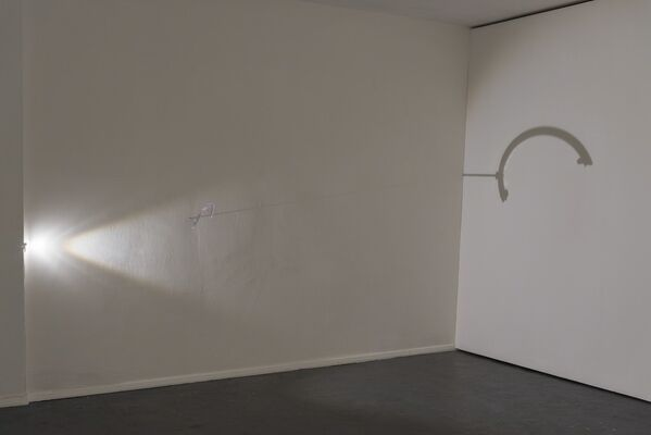 The clock has no place in the woods, installation view