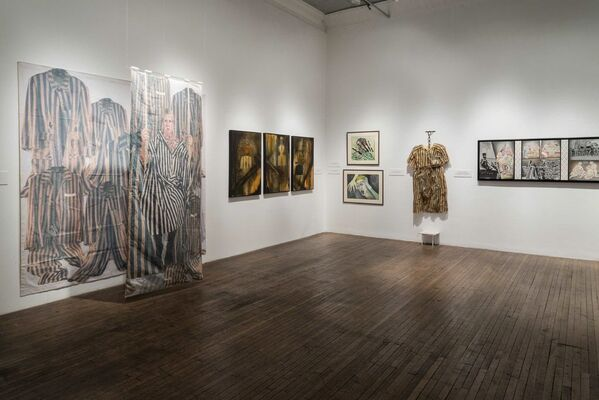 VIOLATED! Women in Holocaust and Genocide, installation view