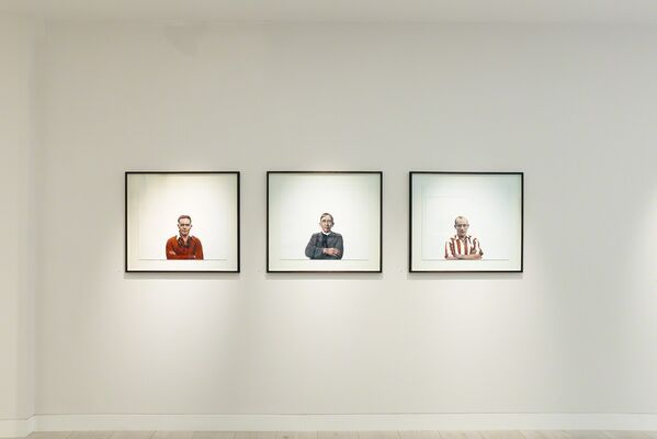 Mark I'Anson, Blurring the Lines, installation view