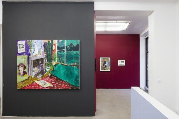 Karoliina Hellberg: E / Joseph James: Transmutation, installation view