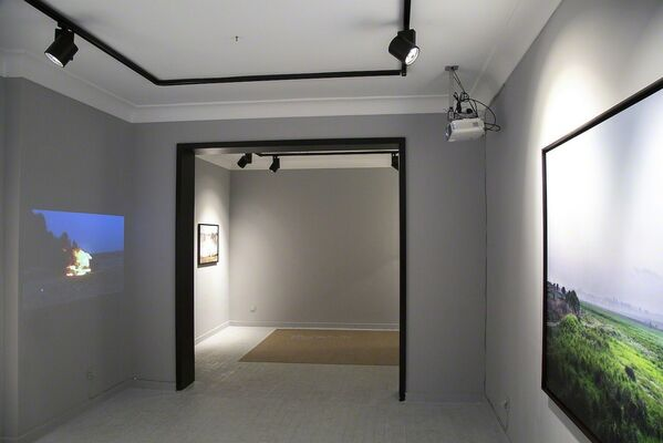 There was a world, once, you punk, installation view