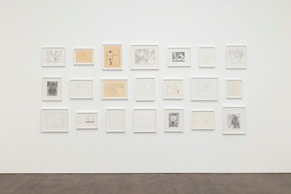Joe Bradley: Day World, installation view