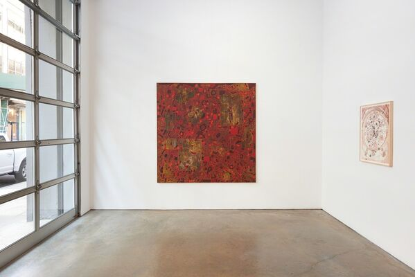 Lee Mullican: The 1960s, installation view