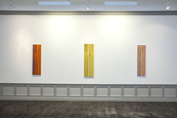 Sascha Braunig: Torsion, installation view