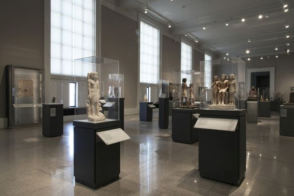 Permanent Collection Highlights | Egyptian Galleries, installation view