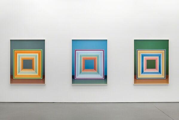 Jessica Eaton, Iterations (I), installation view