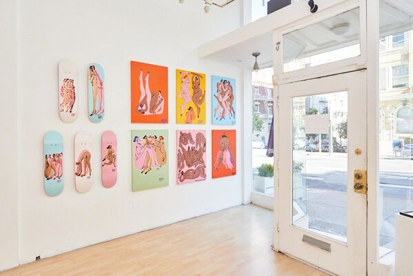 """Jeffrey Cheung: """"In Unity"""", installation view"""