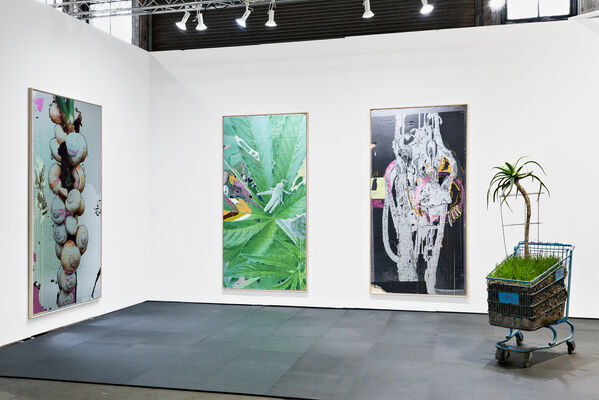 Night Gallery at UNTITLED, ART San Francisco 2020, installation view