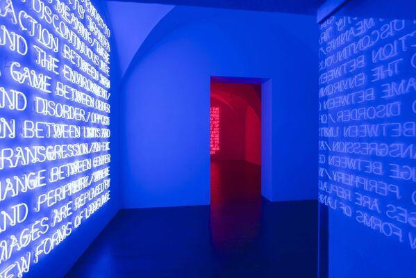 Maurizio Nannucci, installation view