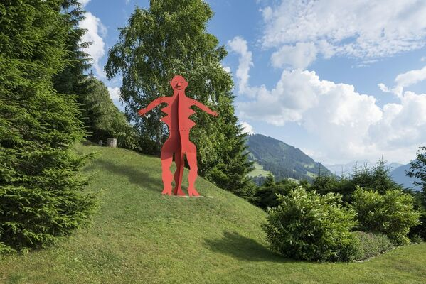 Calder in the Alps, installation view
