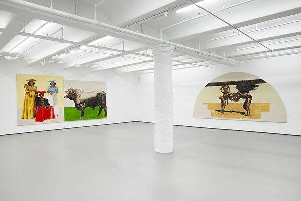 Meleko Mokgosi: Democratic Intuition, Lerato, installation view