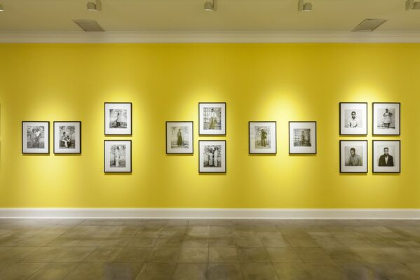 The Route of Niger: From Mopti to Timbuktu, installation view