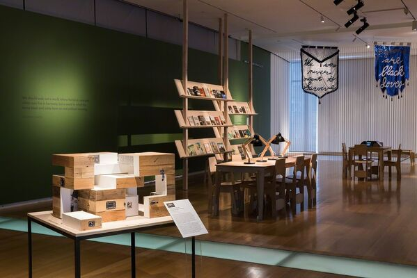 Unpacking the Green Book: Travel and Segregation in Jim Crow America, installation view