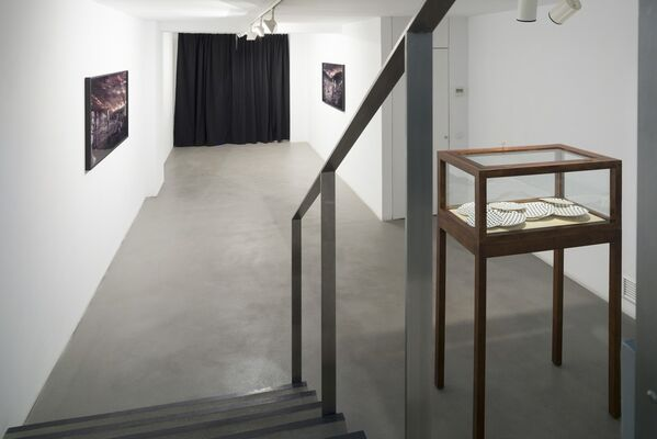 In the Future they ate from the finest Porcelain, installation view