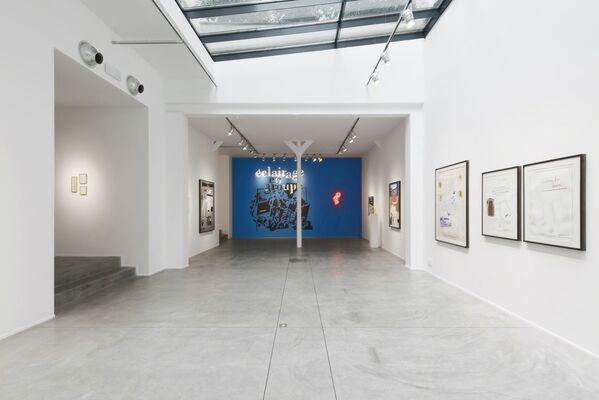 Jean-Michel Alberola:  Exposition de groupe (Solo show), installation view