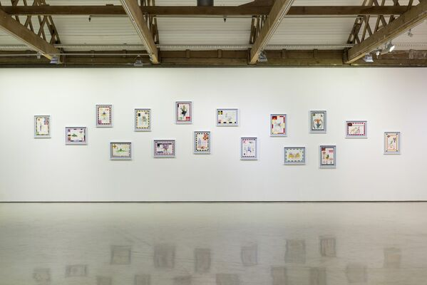 Carla Busuttil: Gentlemen, I Just Don't Belong Here, installation view