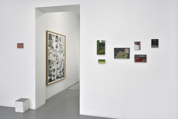 "Pierre Buraglio ""PB, appliqué"", installation view"