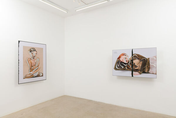 ONE-LINER, installation view