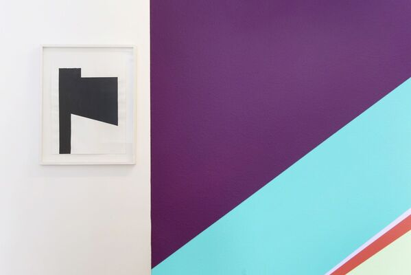 "Odili Donald Odita, ""The Differend"", installation view"
