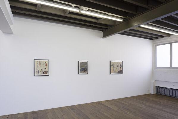 Dirk Braeckman, Susan Hartnett, Jockum Nordström & Jack Whitten, installation view