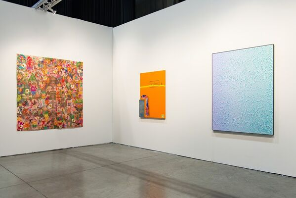 Steve Turner at Seattle Art Fair 2016, installation view
