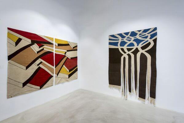 Belkıs Balpınar: Un-Weave, installation view