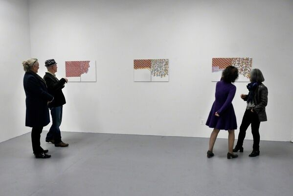 MARJORIE WELISH, SOME DIFFERENCES, installation view