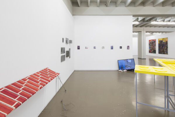Patricia Fleming at Independent Brussels 2018, installation view