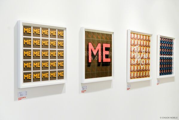 Oddly Head - Repeat After Me, installation view