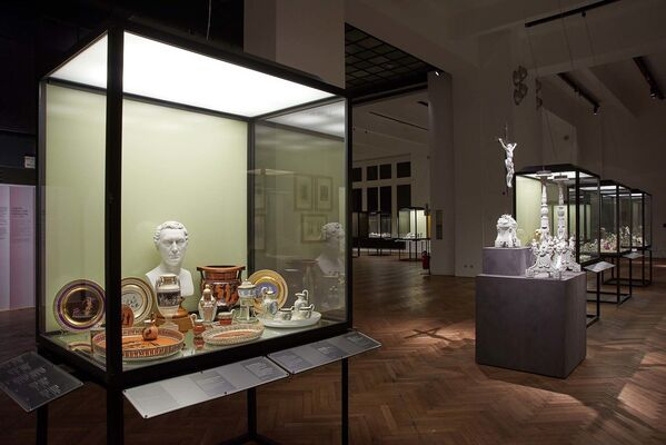 300 Years of the Vienna Porcelain Manufactory, installation view