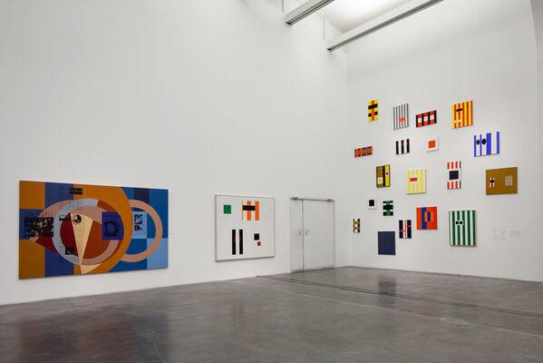David Diao, installation view