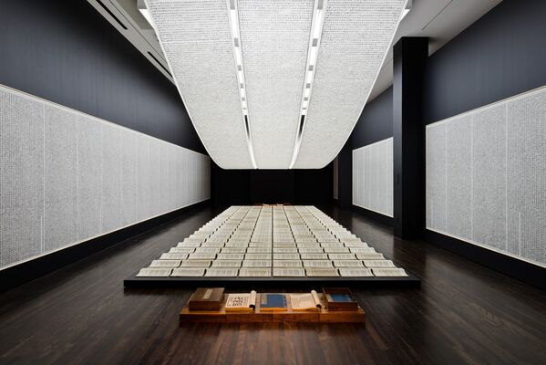 Xu Bing: Book from the Sky, installation view