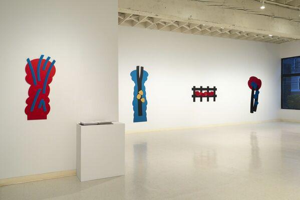Mel Katz: Wall Sculpture, installation view